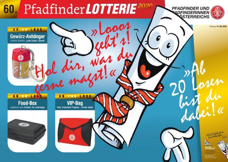 60. Pfadfinderlotterie 2020 Prämien Klagenfurt 5