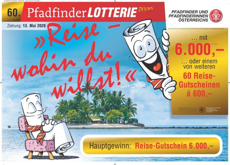 60. Pfadfinderlotterie 2020 Poster Klagenfurt 5