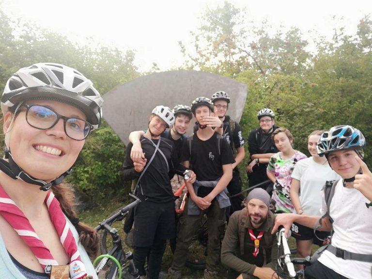 Sommerwochenende Radtour