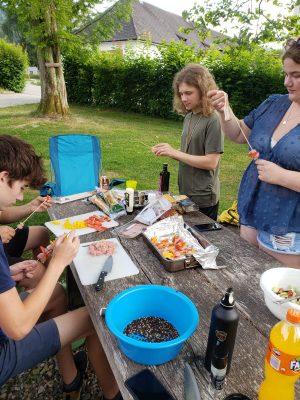 RaRo-Radltour 2021 Essensvorbereitung